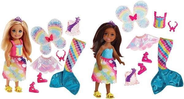 16a95fd3974a Barbie Chelsea Rozprávkové oblečenie - Bábika