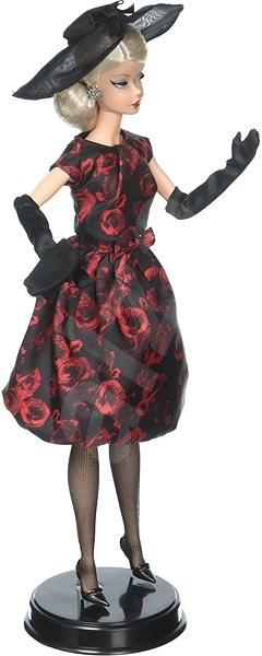 Barbie Elegantné šaty z ruží - Bábika