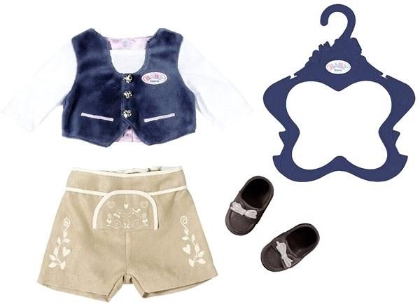 a173e3545c2e BABY Born Chlapčenský kroj - Doplnok pre bábiky