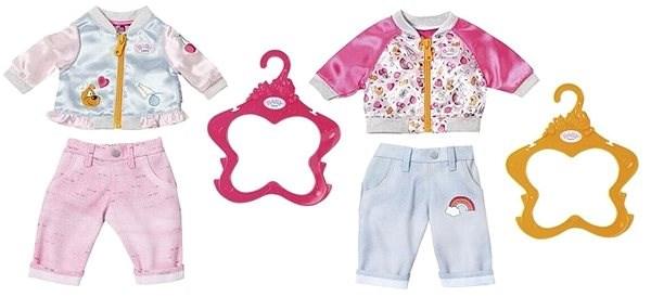 254899c8f584 BABY Born Bunda a kalhoty 1 ks - Doplnok pre bábiky