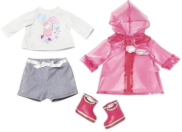 BABY Annabell Súprava do dažďa s čižmami - Doplnok pre bábiky  31124980190