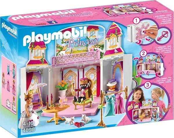Playmobil 4898 Box na hranie Kráľovský zámok - Stavebnica
