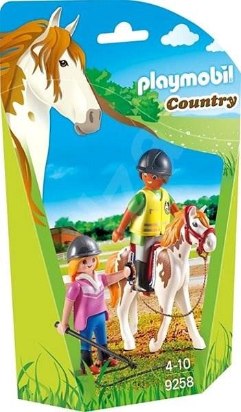Playmobil 9258 Učiteľka jazdy na koni - Stavebnica