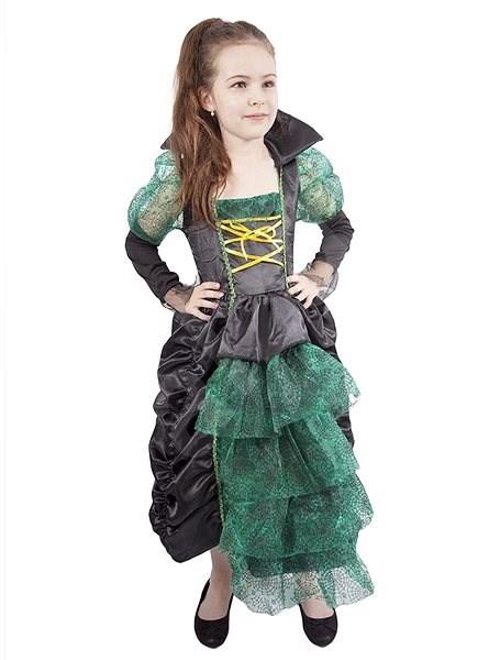 Čarodejnica zelená s klobúkom veľ. M - Detský kostým  2c533b63e2d