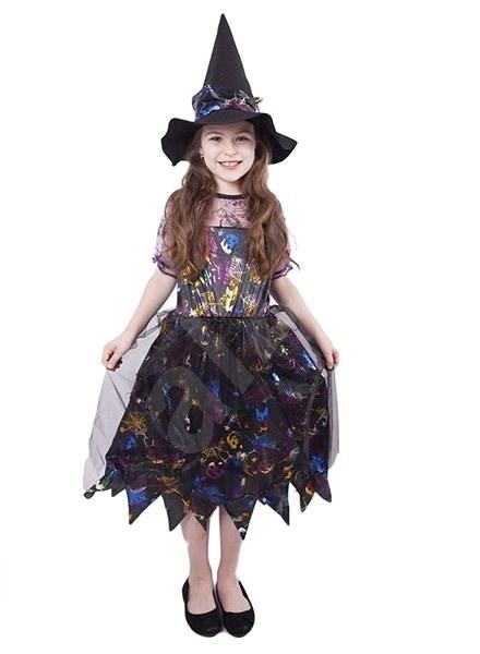 8c4361da1785 Čarodejnica farebná veľ. M - Detský kostým