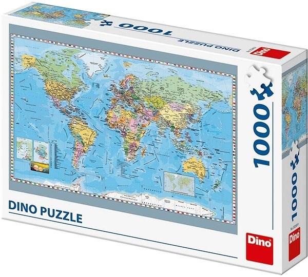 Politická mapa sveta - Puzzle