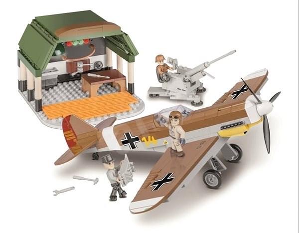 Cobi 5544 II WW Messerschmitt BF 109 Africká misia - Stavebnica
