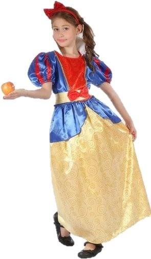 Šaty na karneval - Snehulienka veľ. L - Detský kostým  ca3c25857d5