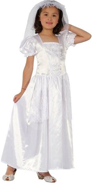 1e625c35cfac Šaty na karneval - Nevesta veľ. M - Detský kostým