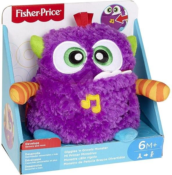 d2b49e3bb4 Fisher-Price - Plyšová veselá príšerka - Plyšová hračka