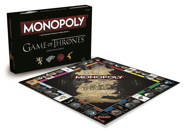 Monopoly Hra o Tróny - Spoločenská hra
