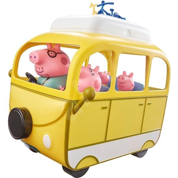 66390099e Peppa Pig – Karavan s príslušenstvom + 4 figúrky - Herný set
