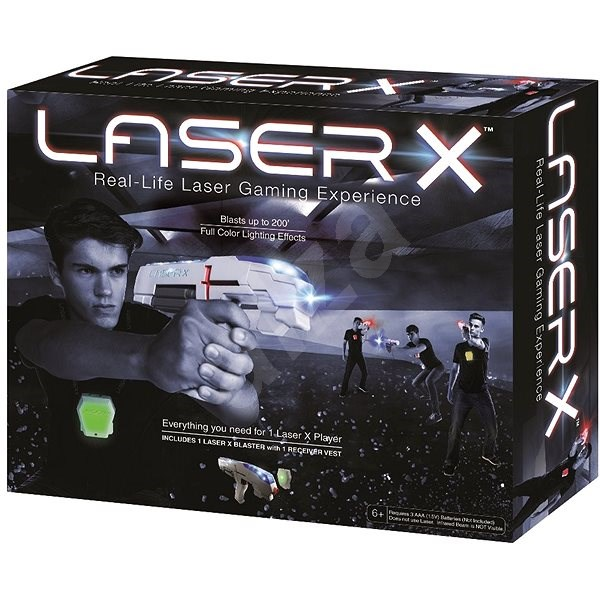 b2196355f234f TM Toys Laser-X Pištoľ s infračervenými lúčmi - Detská zbraň | Alza.sk