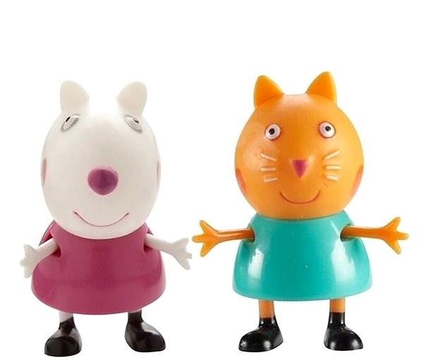 7f9317305 Prasiatko Peppa – figúrky 2 ks Candy Cat + Suzy - Herný set   Alza.sk
