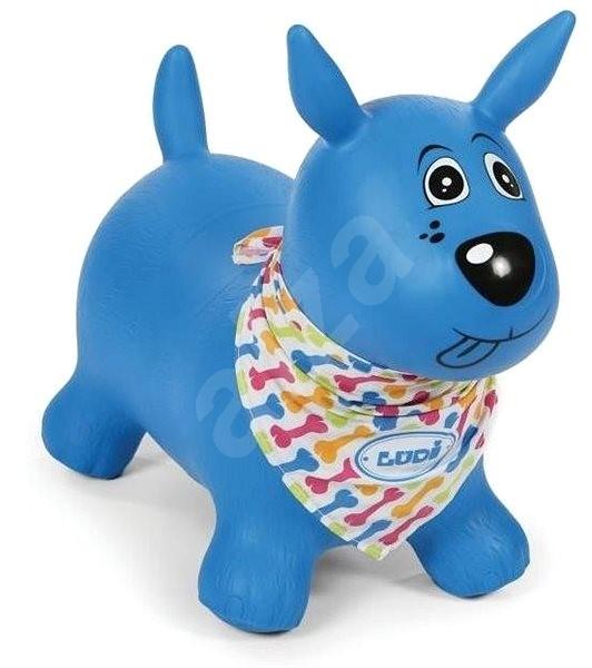 Ludi Skákací pes, modrý - Detské skákadlo