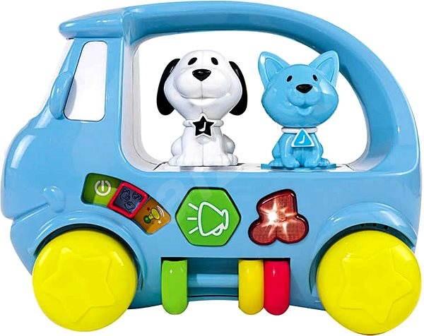Simba Auto so zvieratkami, svetlo, zvuk - Herná sada