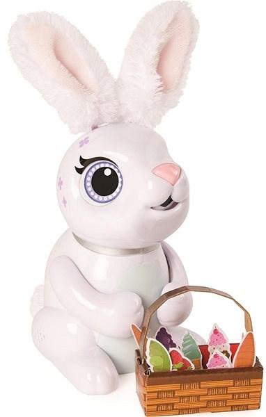 Zoomer Hladný králik biely - Interaktívna hračka