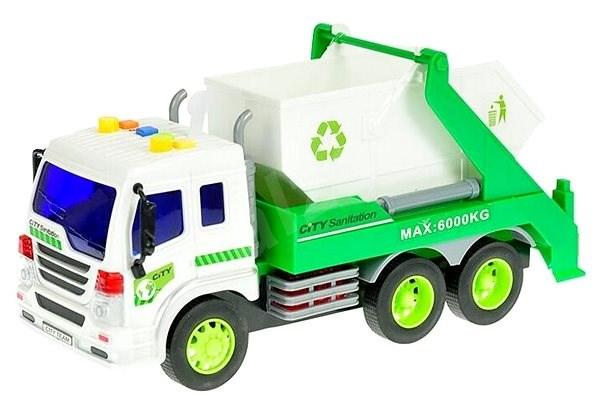 Auto upratovací kontajner - Auto