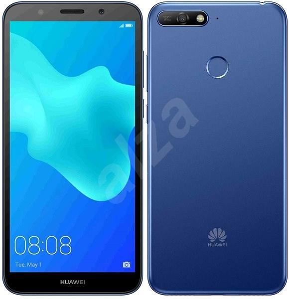 HUAWEI Y6 Prime (2018) modrý - Mobilný telefón