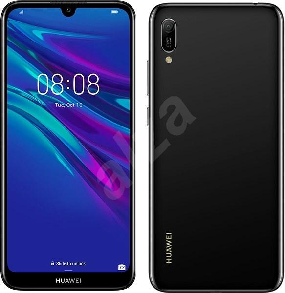 HUAWEI Y6 (2019) čierny - Mobilný telefón