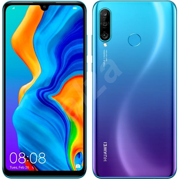 HUAWEI P30 Lite gradientná modrá - Mobilný telefón