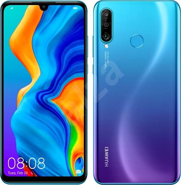 Huawei P30 Lite NEW EDITION 64 GB gradientný modrý - Mobilný telefón
