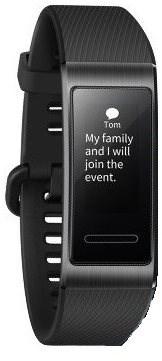 Huawei Band 3 Pro Black - Fitness náramok