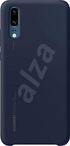 Huawei Original Silicon Blue pre P20 - Kryt na mobil