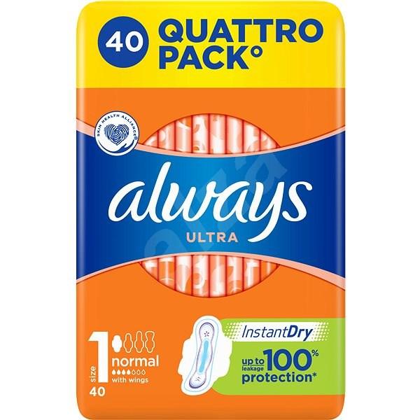 ALWAYS Ultra Normal Plus 40 ks - Dámske vložky