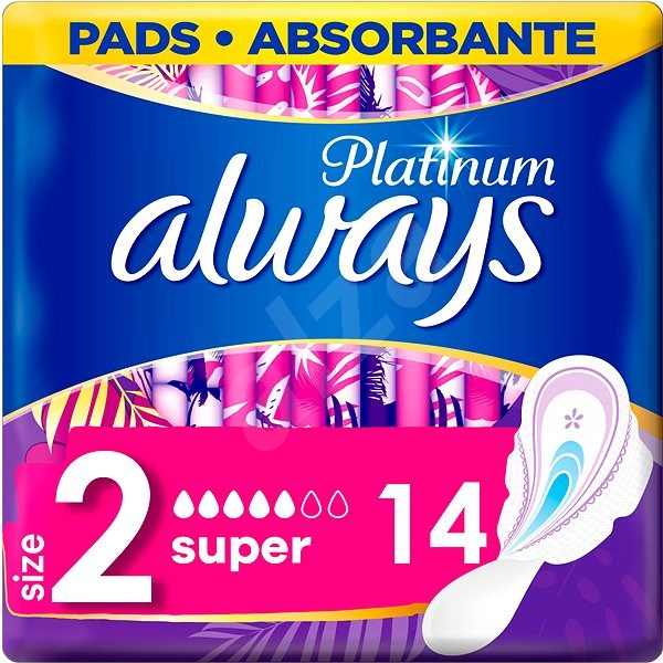 ALWAYS Platinum Ultra Super Plus Duopack 14 ks - Menštruačné vložky