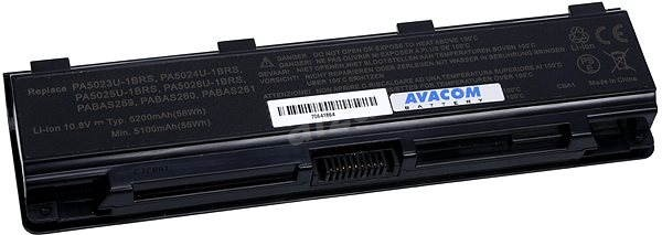 AVACOM pre Toshiba Satellite L850 Li-ion 11,1V 5200mAh / 58Wh black - Batéria do notebooku