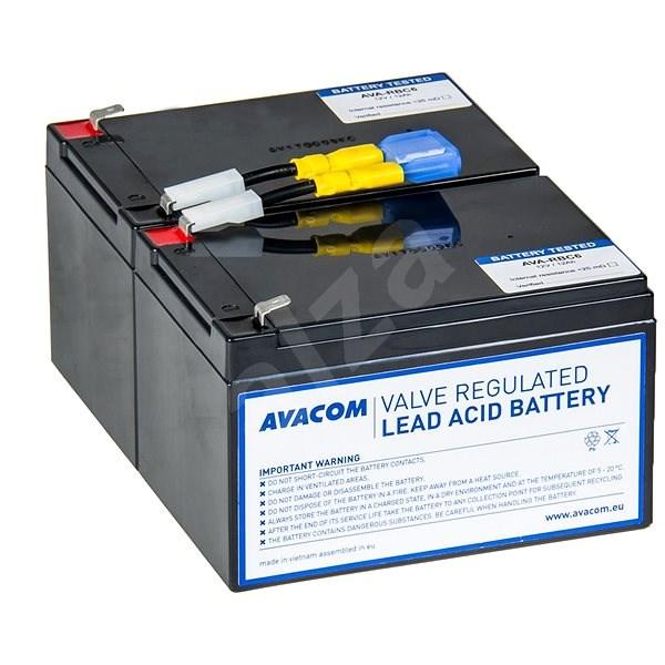 AVACOM náhrada za RBC6 – batéria pre UPS - Nabíjacia batéria