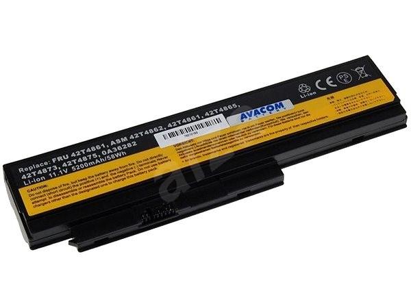 AVACOM Lenovo X220 series Li-Ion 11,1 V 5200 mAh/58 Wh - Batéria do notebooku