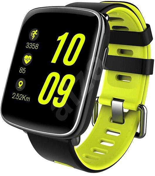 IMMAX SW9 čierno-zelené - Smart hodinky