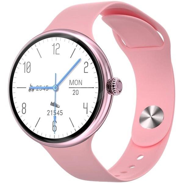 IMMAX Lady Music Fit ružové - Smart hodinky