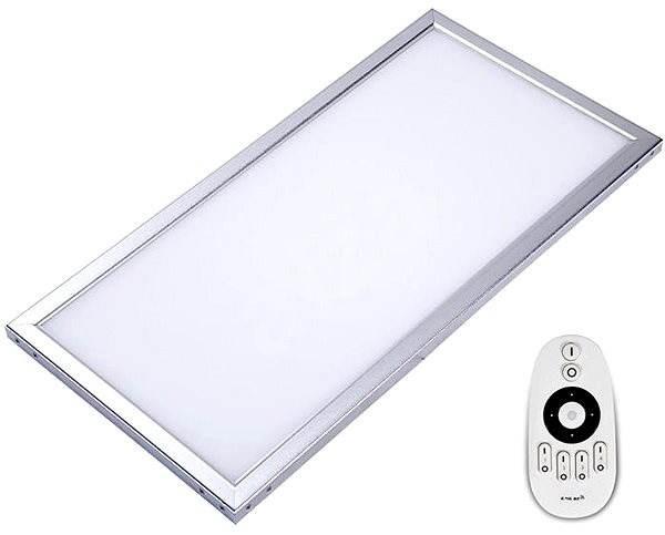 Immax LED panel 300x1200x9mm 36W PB + zdroj RC - Lampa