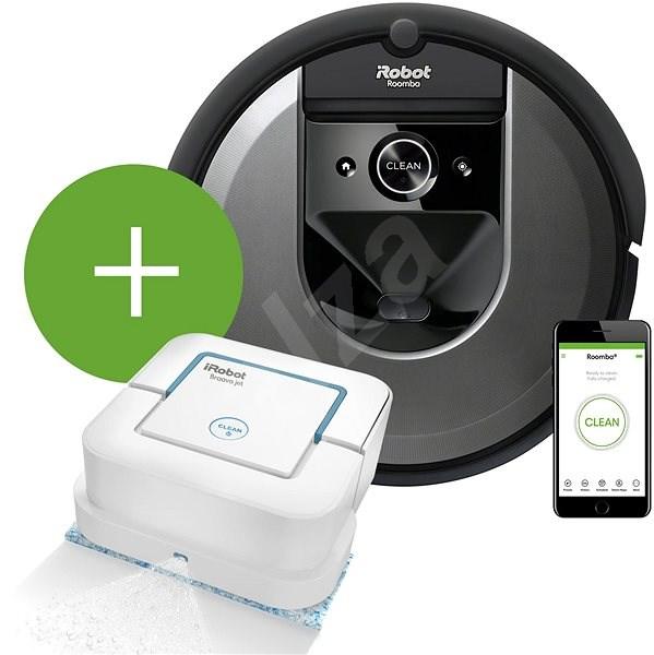 iRobot Roomba i7 (7158) + Braava Jet 240 - Set