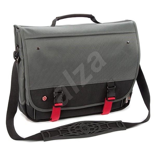 """5a96324bd4 i-stay URBANA Messenger 15.6"""" sivočierna - Taška na notebook"""