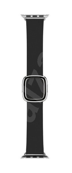 Apple 38mm Čierny s modernou prackou – Small - Remienok