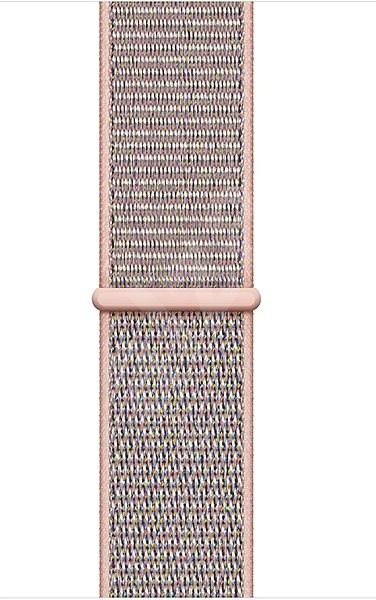 Apple 40mm Pieskovo ružový prevliekací športový - Remienok
