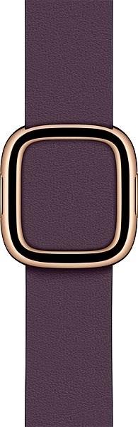 Apple Watch 40 mm Baklažánový Modern Buckle – Medium - Remienok