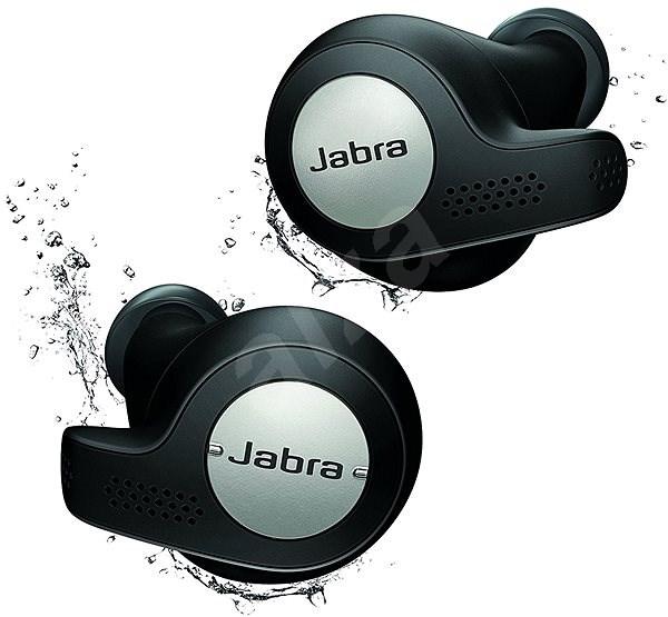 Jabra Elite 65t Active, čierne - Slúchadlá s mikrofónom