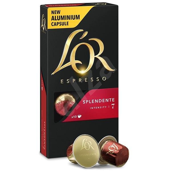 L'OR Espresso Splendente 10 ks hliníkových kapsúl - Kávové kapsuly