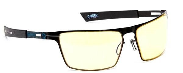 GUNNAR Gaming Collection Heroes of The Storm Siege, ónyx ice/yellow - Okuliare