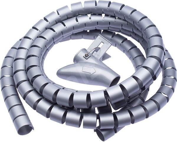 CONNECT IT CableFit WINDER sivá 2,5 m - Organizér káblov