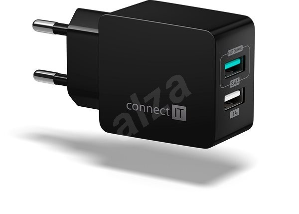 CONNECT IT Fast Charge CWC-2015-BK čierna - Nabíjačka