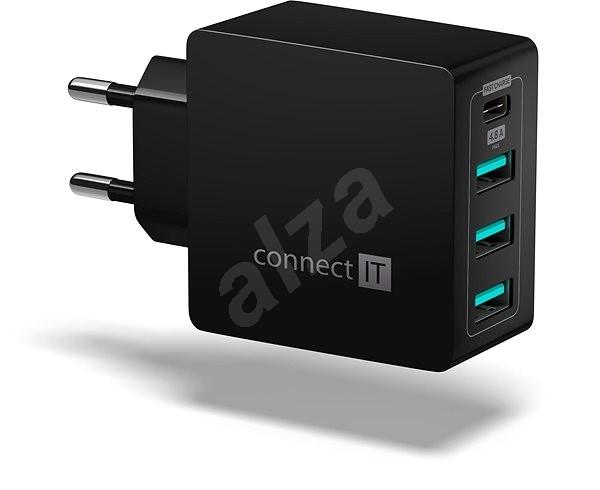 CONNECT IT Fast Charge CWC-4060-BK čierna - Nabíjačka
