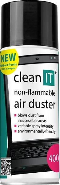CLEAN IT nehorľavý stlačený plyn 400 g - Čistiaci prostriedok