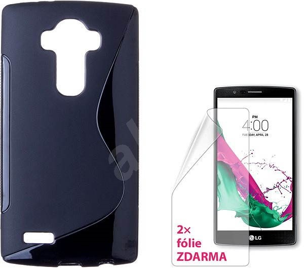 CONNECT IT S-Cover LG G4 čierne - Puzdro na mobil