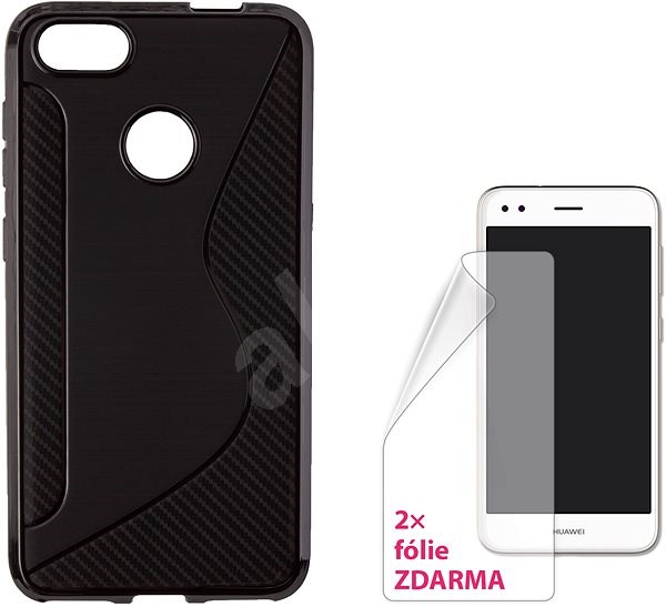 CONNECT IT S-COVER pre Huawei P9 Lite Mini čierne - Puzdro na mobil